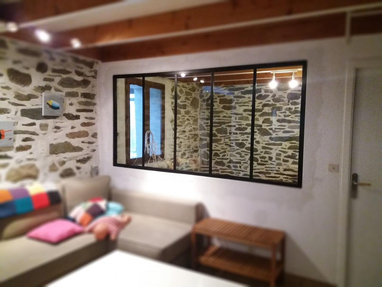 installation verri re type atelier. Black Bedroom Furniture Sets. Home Design Ideas