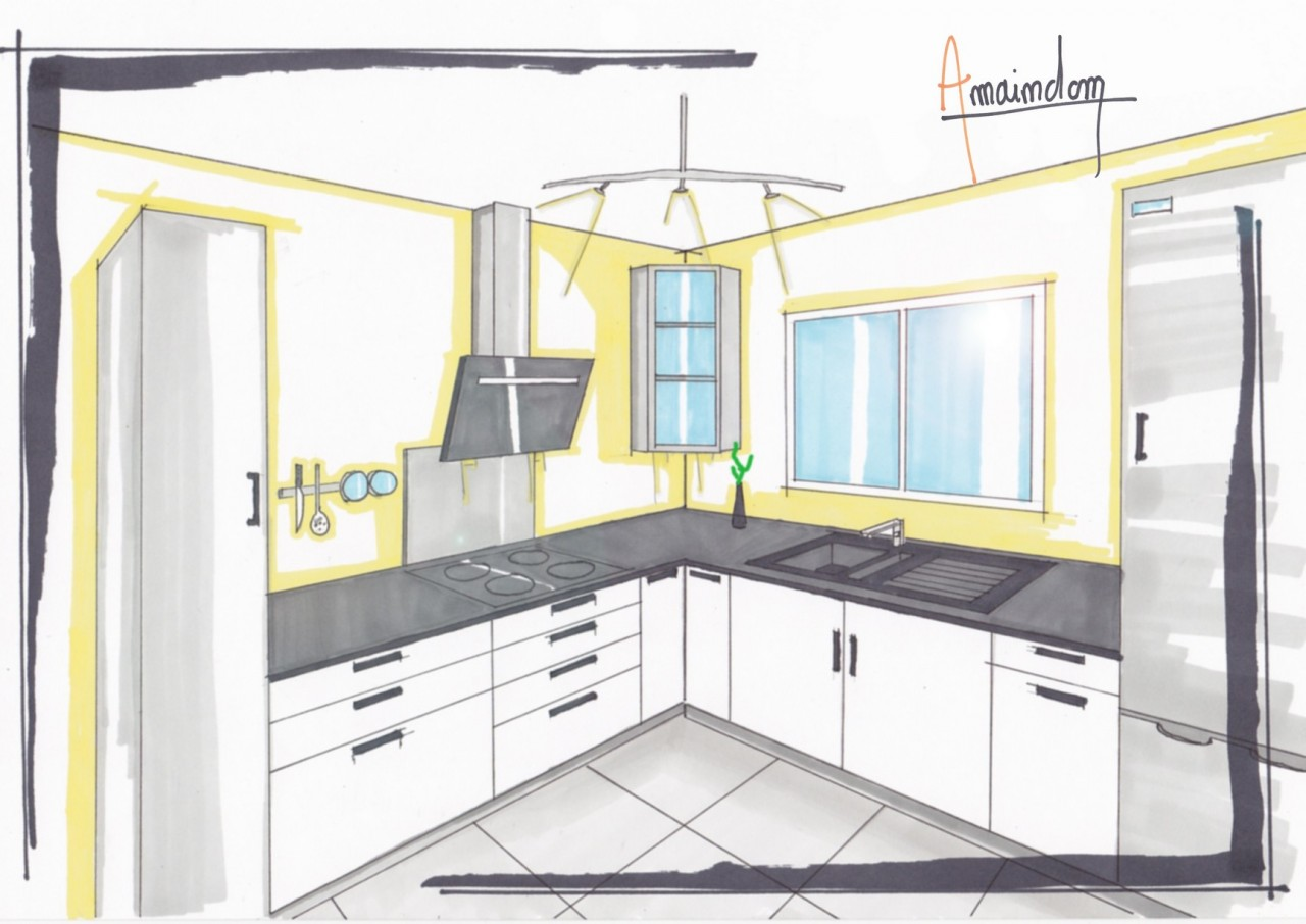 aide la conception de cuisine pose de cuisine douarnenez chateaulin pont de buis. Black Bedroom Furniture Sets. Home Design Ideas